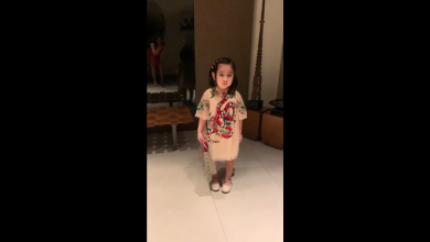 Photo of Netizens react to Scarlet Snow Belo wearing Gucci at young age