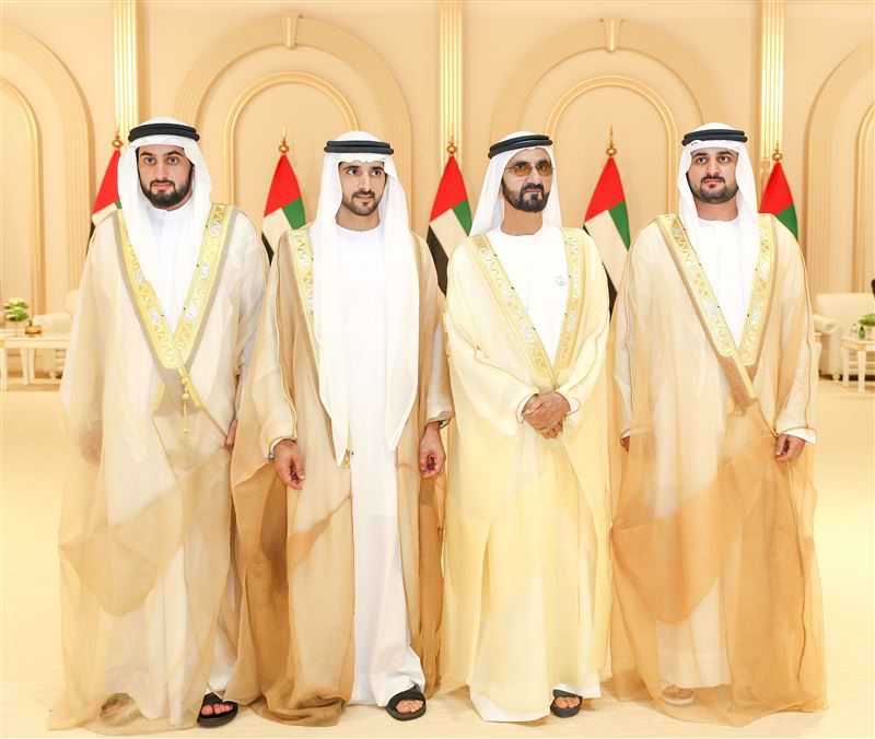 Mohammed Bin Rashid Hosts Grand Ceremony To Mark The Weddings Of Three Sons The Filipino Times