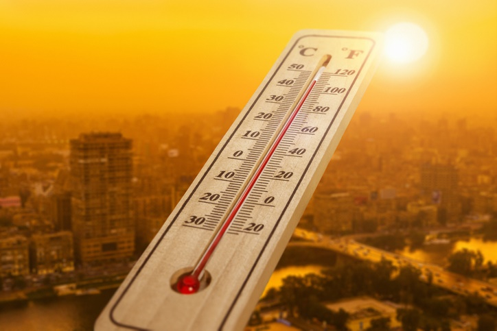 Kuwait records highest temperature in Asia