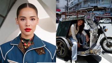 Photo of Thai actress visits PH, rides tricycle in Intramuros