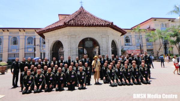 Thai Princess visits Cebu's iconic Sto. Niño church