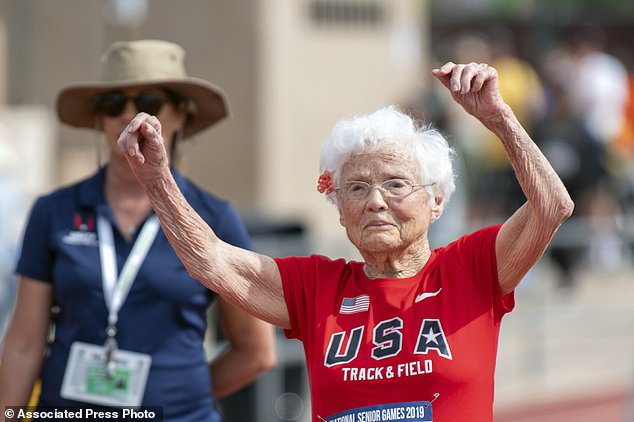 Meet 'Hurricane' Hawkins – the oldest woman to run on a US track event