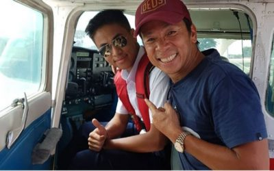 Kim Atienza proud parent of his new pilot son