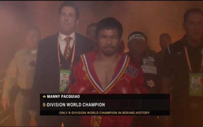 JUST IN: Pacquiao, Thurman now inside the ring
