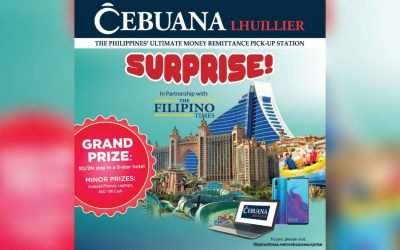 Cebuana Surprise raffle promo announces cash prize winners