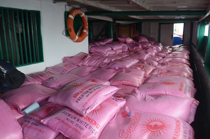 LOOK: PH Navy intercepts P12M worth of smuggled rice