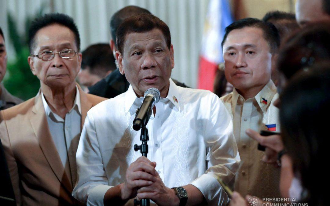 Duterte regrets running for presidency