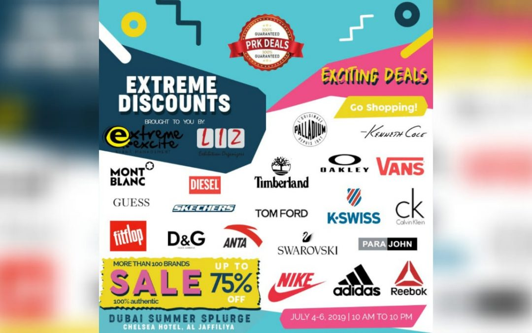 Get up to 75% off at 3-day Extreme Discounts Clearance Sale