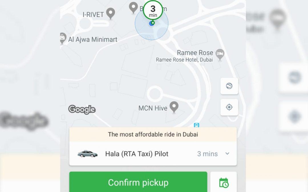 Dubai RTA, Careem unveil taxi e-hailing brand 'Hala'