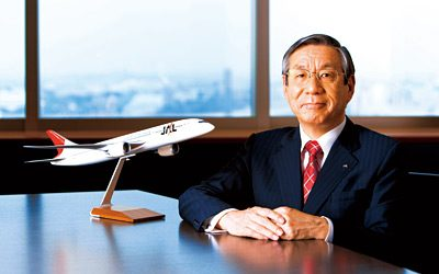 Former Japan Airlines boss walks the walk on setting good example