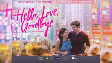 "Photo of Alden Richards, Kathryn Bernardo scheduled to visit UAE for ""Hello, Love, Goodbye"" on August 9 & 10"