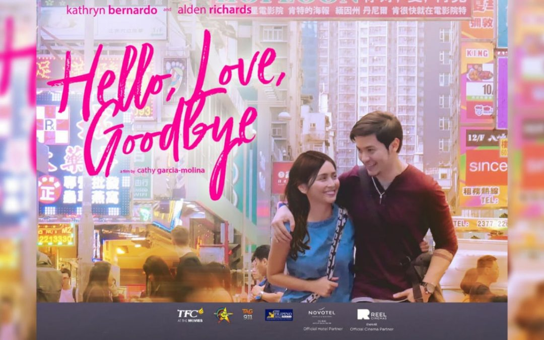 "Alden Richards, Kathryn Bernardo scheduled to visit UAE for ""Hello, Love, Goodbye"" on August 9 & 10"