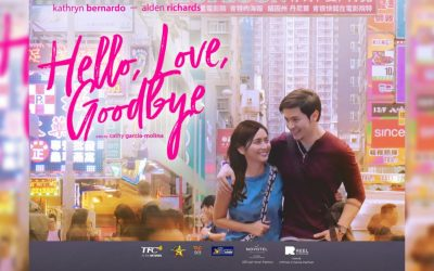 "Alden Richards, Kathryn Bernardo scheduled to visit UAE for ""Hello, Love, Goodbye"" on August 9 & 10"