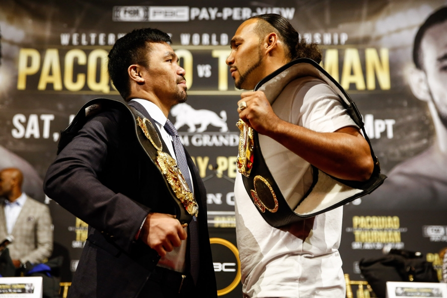 Pacquiao hits Thurman: I'm not a newbie