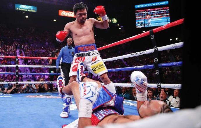 Pacquiao: The oldest welterweight champion in history wants some more action in the ring.