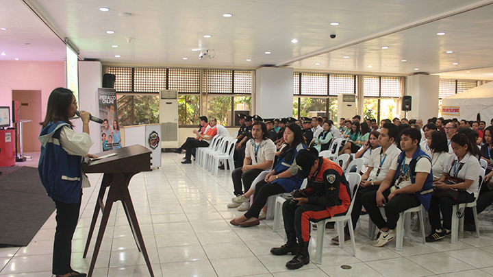 DepEd, BFP host Fire Square roadshow