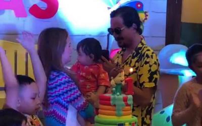 John Lloyd Cruz, Ellen Adarna celebrate son's first birthday