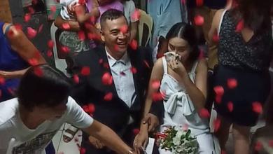 Photo of Filipina battling stage 4 ovarian cancer gets her dream wedding