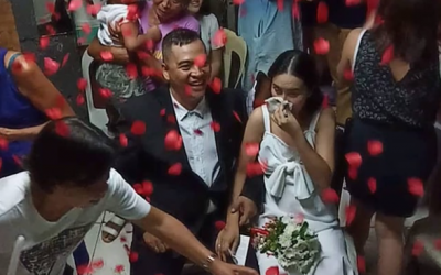 Filipina battling stage 4 ovarian cancer gets her dream wedding