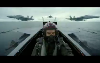 Tom Cruise reprises iconic role in Top Gun sequel