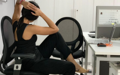 Eight basic exercises you can do while working inside the office
