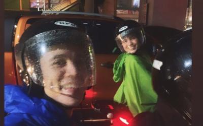 Maine Mendoza, Arjo Atayde beat traffic, rain to catch LANY concert