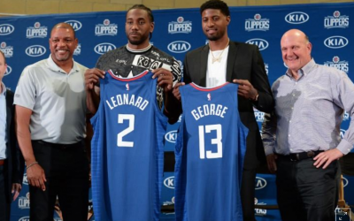 Clippers showcase all-star tandem Leonard, George