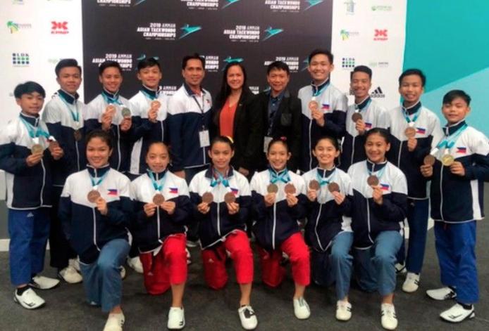 PH Taekwondo team wins Asian Junior Cadet championship
