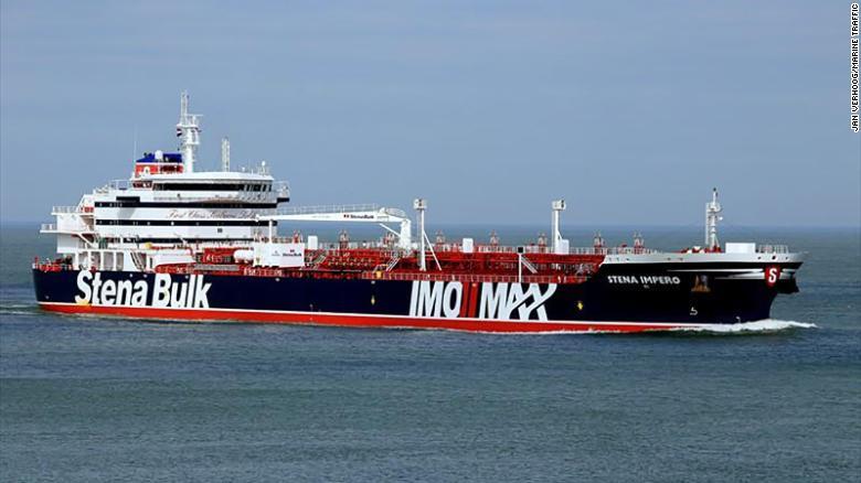 Bahrain condemns Iran's seizure of British vessel