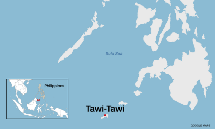 Chinese warship pass by Tawi-Tawi without PH's knowledge