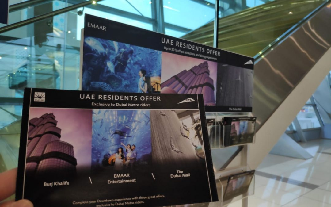 Dubai RTA, Emaar roll out UAE residents offer with 50% discount for Burj Khalifa, other sites