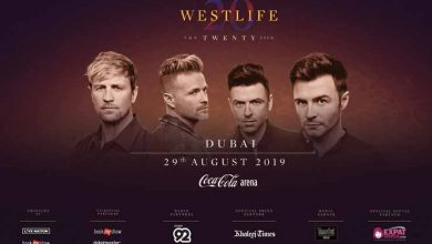"Photo of Westlife's ""The Twenty Tour"" Dubai leg to thrill fans in UAE"