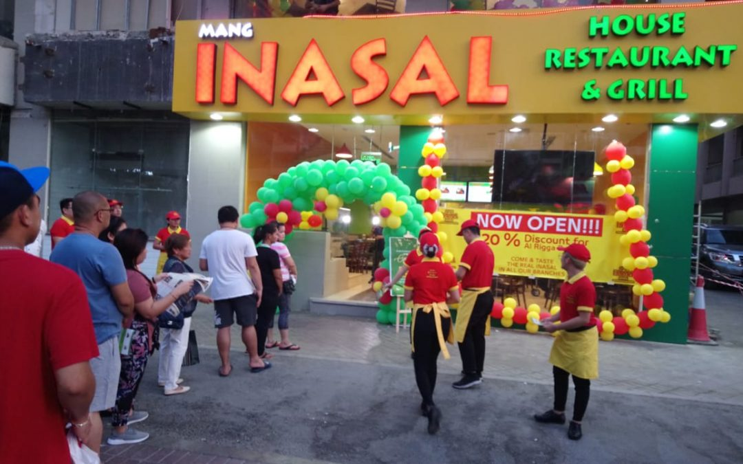 Mang Inasal House Restaurant and Grill opens Rigga branch