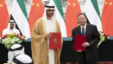 Photo of Mohamed bin Zayed, Chinese President witness signing of ADNOC and CNOOC agreement
