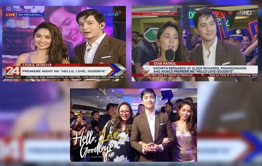 Kapuso, Kapamilya stars troop to Alden-Kathryn movie premier