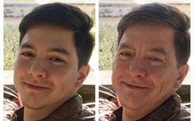 Pinoy celebrities take on #AgeChallenge via FaceApp