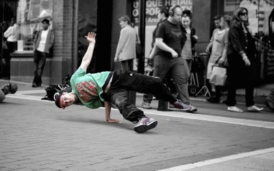 Breakdancing may be an Olympic gold event