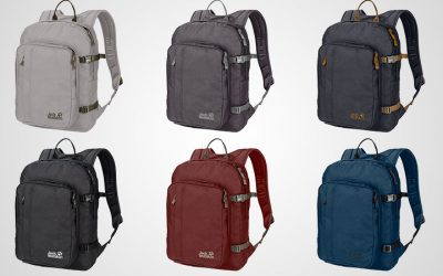 Get your sturdy Jack Wolfskin bags for only Dh 100!
