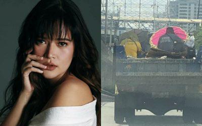 Bela Padilla asks MMDA to protect its workers