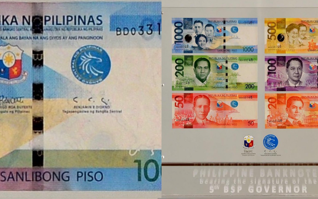 LOOK: BSP releases new banknotes with Diokno's 'worm-like' signature
