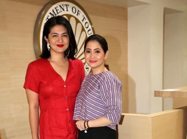 Dimples 'Daniela' Romana meets Tourism Secretary Berna Puyat, eyes to collaborate with DOT