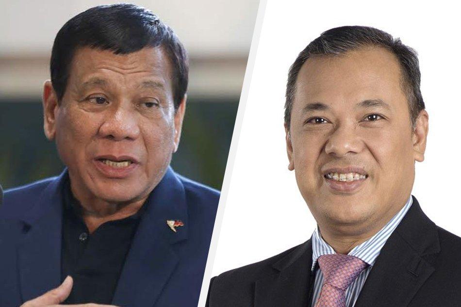 Duterte fires GSIS president