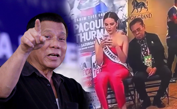 Duterte comments on 'Galawang Chavit' video: 'Good luck next time'
