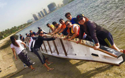 Dragon boat team in Dubai with a cause: more than the competition is service