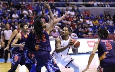 Blackwater defeats Rain or Shine, 100-96