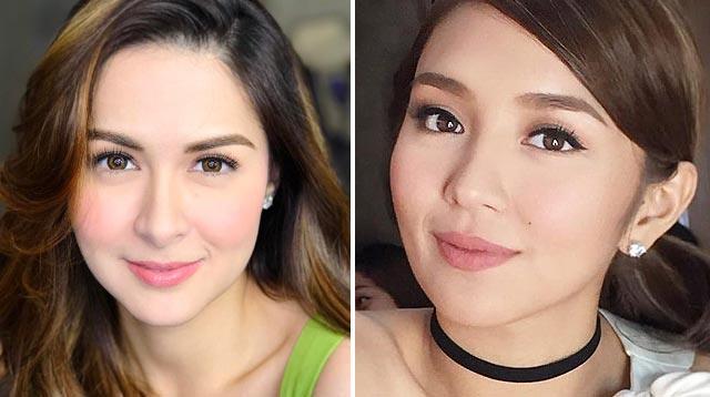 Kathryn Bernardo says Marian Rivera has the most beautiful face in showbiz