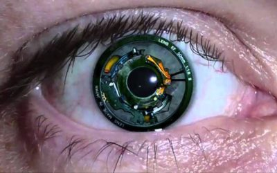 Sony gets patent for video-recording contact lens