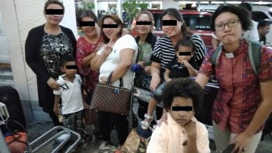 Photo of Filipinas, toddlers detained in Malaysia now home in PH