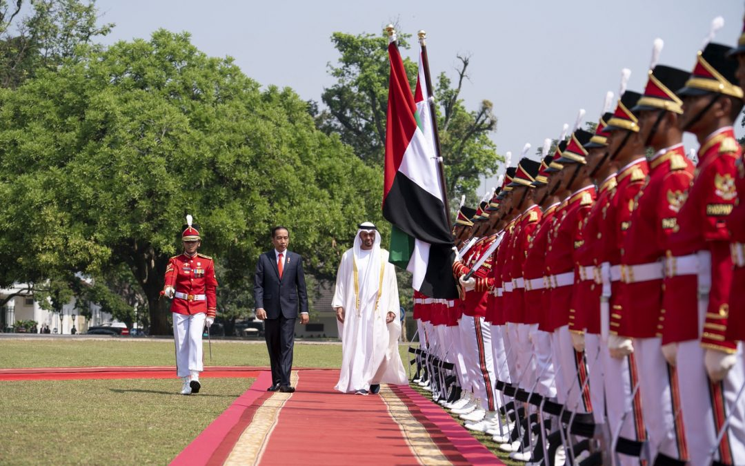 Sheikh Mohamed bin Zayed arrives in Jakarta, holds talks with Indonesian President