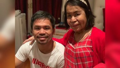 Photo of LOOK: Mommy Dionisia arrives in U.S ahead of Pacquiao-Thurman bout